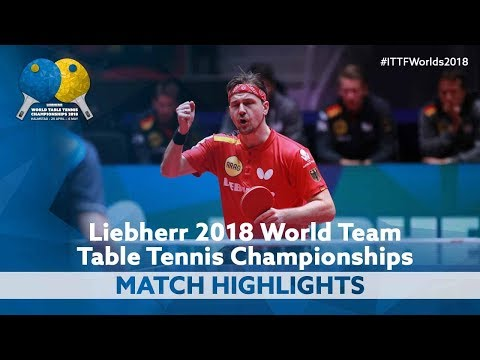2018 World Team Championships Highlights | Timo Boll vs Lee Sangsu (1/2)