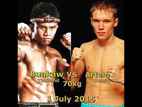 บัวขาว  VS อาร์เทม | 1 ก.ค. 58 | world  Boxing Full Channel Official