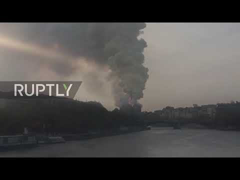 France: Fire engulfs world-famous Notre Dame cathedral in Paris