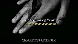 Cigarettes After Sex - K. lyrics (Sub. Español)