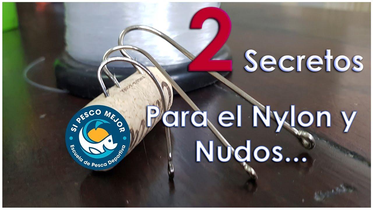 Nudo de Pesca y Nylon / 2 secretos !!! MIRA