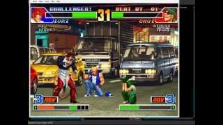 William Yuki vs Sidneienix online no Fightercade