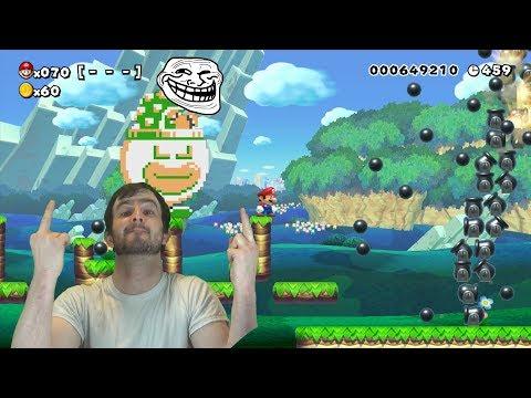 A Bizarre Super Expert Run - Super Mario Maker