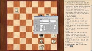 London Chess Classic 2011. 4й тур. Видеоитоги от Сергея Шипова.