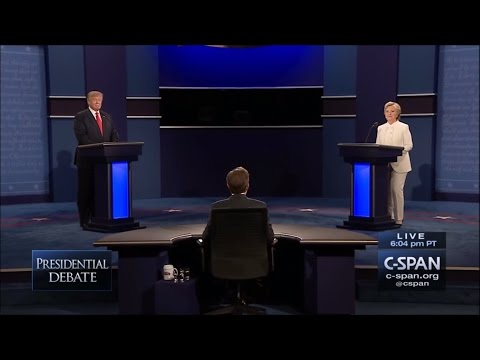 Third Presidential Debate - October 19 2016