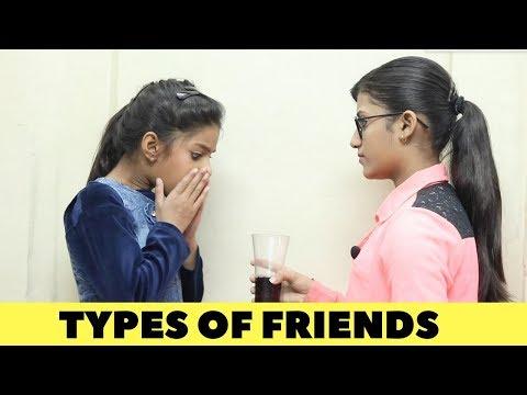 TYPES OF FRIENDS | Samreen Ali