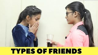 TYPES OF FRIENDS | Samreen Ali
