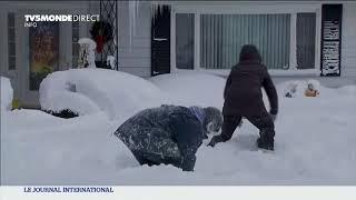 Une vague de froid polaire balaye le Canada et les Etats-Unis