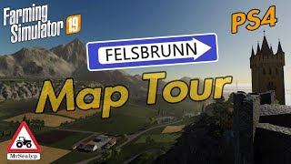 Download Video FELSBRUNN, PS4, Map Tour. Farming Simulator 19. New Game. MP3 3GP MP4