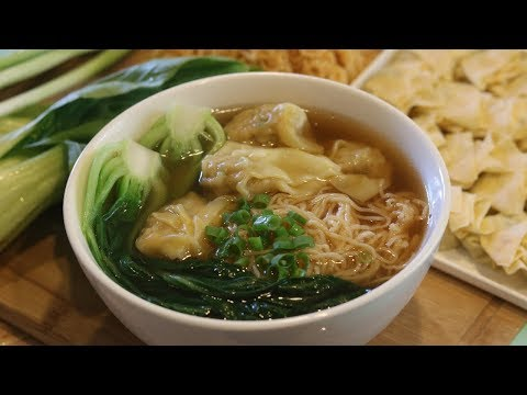 BETTER THAN TAKEOUT - Wonton Noodle Soup (广式云吞面)