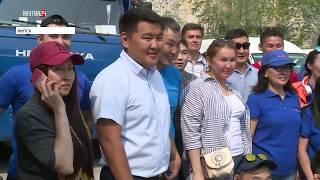 Съемочная бригада НВК «Саха» отправилась в Амгинский район Якутии