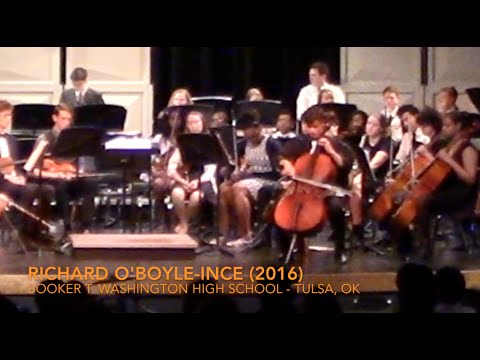Richard O'Boyle-Ince (2016) - J.S. Bach - Gigue from Suite #1 in G