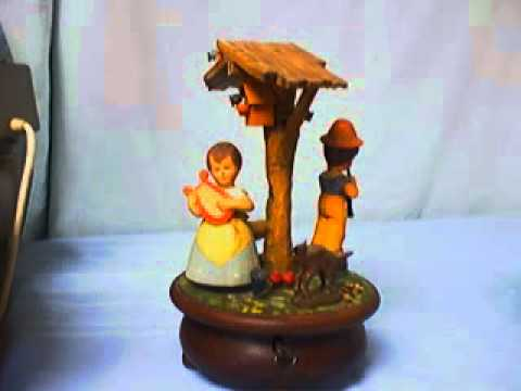 Rare Anri Animated Music Box Dancing Musicians Thorens Movement