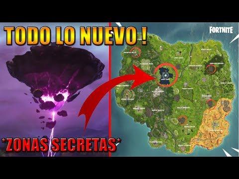 TEMPORADA 6 FORTNITE NUEVO MAPA TODOS LOS NUEVOS CAMBIOS ,ZONAS SECRETAS Y EASTER EGGS !!