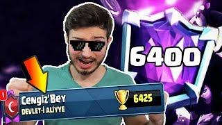 Rekor Geldİ! 6400 Kupa Yaptim   Nİhaİ Şampİyon Olmak   !!! - Clash Royale