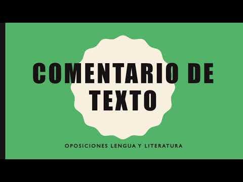👉 Comentario lingüístico,