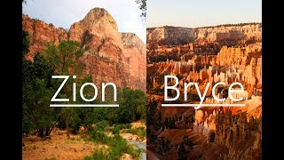 America Trip vlog #2: Visiting Zion and Bryce National Parks!
