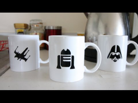 Simple D.I.Y Custom Mugs!