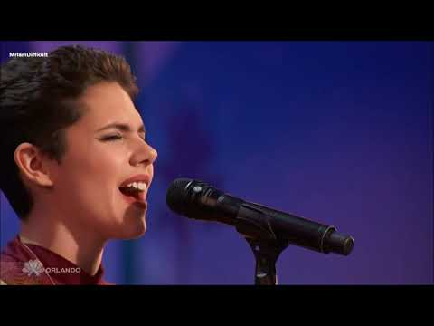 Calysta Bevier - Fight Song By Rachel Platten | America's Got Talent