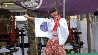 2016年9月22日に宮地嶽神社の秋季大祭のイベントステージにて、ふくおか...