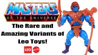 The Rare and Amazing Masters of the Universe figures of Leo Toys | Toysplosion