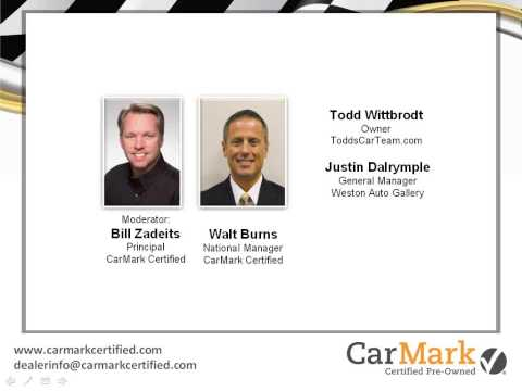 CarMark Certified Pre-Owned:  A CPO Program for ALL Dealers - June 4th Webinar
