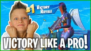RED KNIGHT WINS like a PRO??? AWESOME VICTORY ROYALE!!!