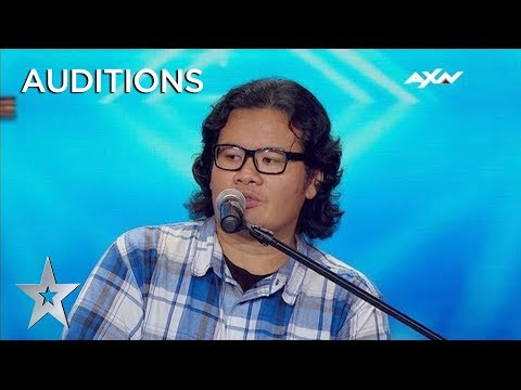 Impressionist's Audition Leaves Judge Anggun In Tears! | AXN Asia's Got Talent 2019