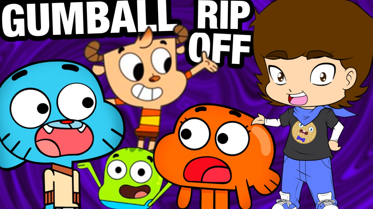 Gumball's Chinese BOOTLEG RIP OFF! - ConnerTheWaffle