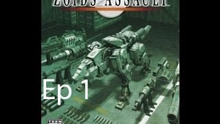 Zoids assault ep 1
