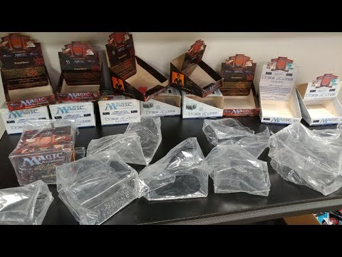 Step by Step Process of SCAMMING and RESEALING Magic The Gathering Boxes