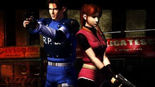 Resident Evil 2 PlayStation 3 GamePlay Leon A No Commentary Part 1/3