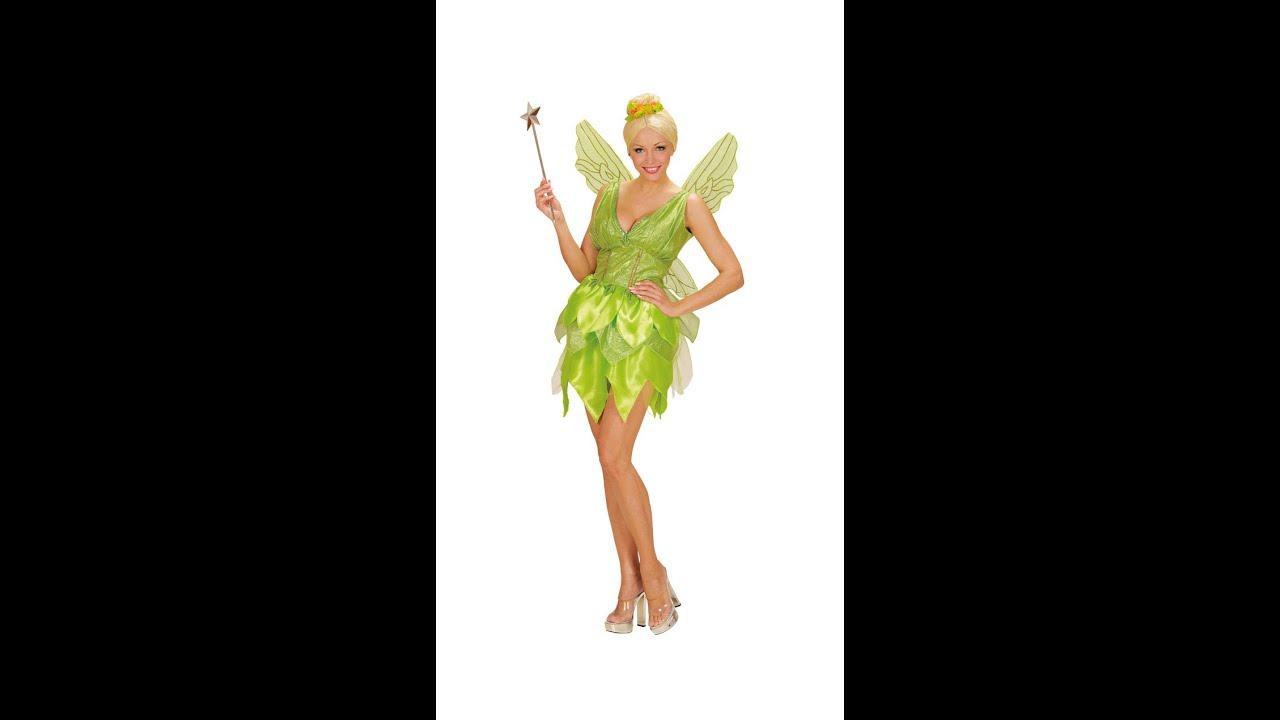 en París hada fiesta de festiva fantasía la de verde Disfraz de W29EDHI