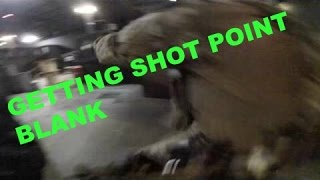 AIRSOFT- GETTING SHOT POINT BLANK and RANDOM CLIPS