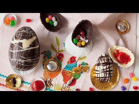 Rezept: Schokoladeneier selber machen für Ostern