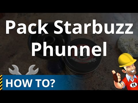 How to Pack Starbuzz in a Phunnel Hookah Bowl