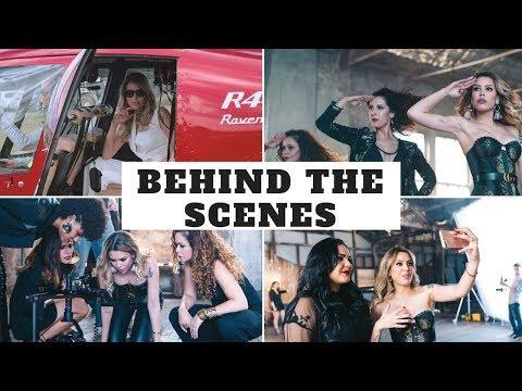 Bastidores da gravação do Teaser, jantar de gala, aprendendo coreografia Beyonce