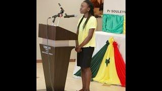 Concours Général Sénégal 2015   Haby KA   Meilleure Elève du Sénégal
