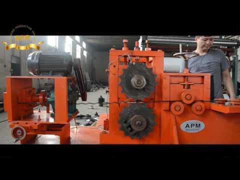 Hydraulic Crimped Wire Mesh Weaving Machine