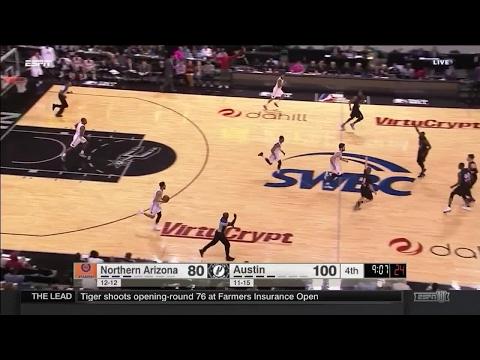Cory Jefferson posts 11 points & 10 rebounds vs. the Suns, 1/26/2017