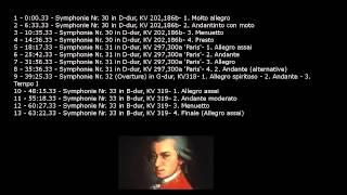 Wolfgang Amadeus Mozart - Symphonies 30 - 33