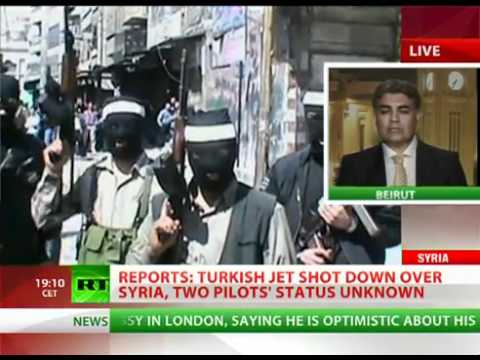 BREAKING NEWS on the build up to WW3: Turkish fighter jet SHOT down over SYRIA pilots status unknown