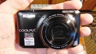 фотоаппарат NIKON CoolPix S6400 - пример видео и фото