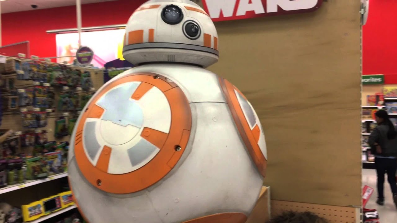 Life-Size Star Wars BB8 Droid at Target - YouTube