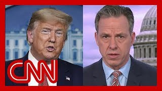 Tapper: How many lives affected by Trump's 'false sense of security'