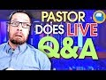 Answering Questions From Live Chat Today on Theology, Apologetics and the Christian Life