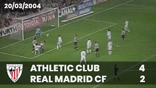 Liga 03-04 - J.29 - Athletic Club 4 R.Madrid 2