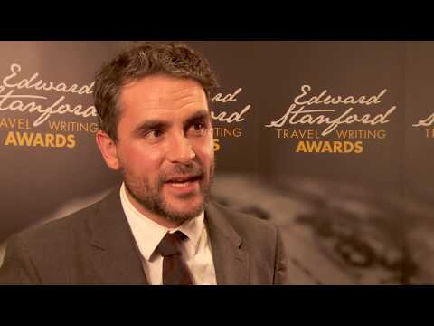 Edward Stanford Travel Writing Awards. Levison Wood, Adventure Travel Book of the Year