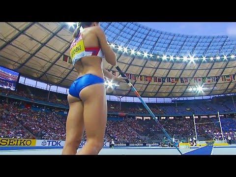Women's Pole Vault - World championships 2009 Berlin - 50 fps