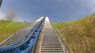 Wild Eagle NEW 2012 Ride at Dollywood Real POV HD GOPRO HERO 2